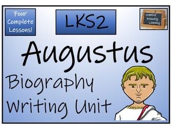 LKS2 History - Augustus Biography Writing Activity