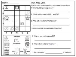 geography map grid worksheets by zatmazmat 100 teaching resources. Black Bedroom Furniture Sets. Home Design Ideas