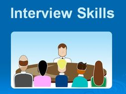 job interview skills powerpoint training presentation complete