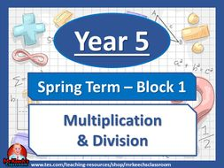 Year 5 - Multiplication and Division - Spring Block 1 - White Rose Maths