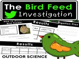 Living Things: The Bird Feed Investigation - Outdoor Science