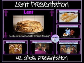 Lent / Holy Week Presentation