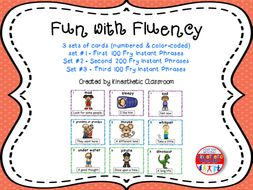 Reading Fluency - Fun With Fluency Silly Reading Workshop