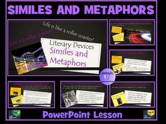 Similes and Metaphors PowerPoint Lesson