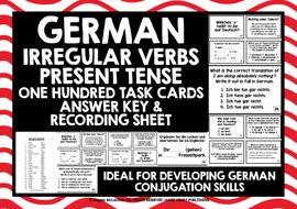 GERMAN-IRREGULAR-VERBS-PRESENT-TENSE-TASK-CARDS.zip