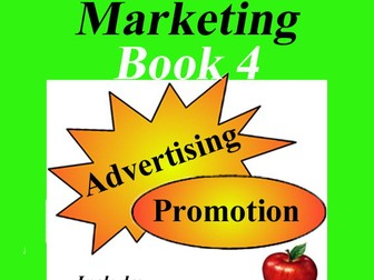 Marketing Book 4 > Advertising & Promotion = Includes Lesson, Activity & Quiz!