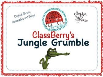 KS1 Jungle theme Summer Show/Assembly with songs and activity pack included!
