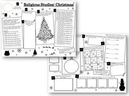 Religious-Studies-Christmas-Sheets.pptx