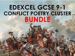 COMPLETE BUNDLE Edexcel Conflict Poetry Cluster GCSE 9-1 - All 15 Poems!