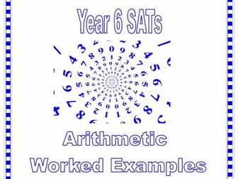 ks2 sats maths arithmetic practice questions and worked examples