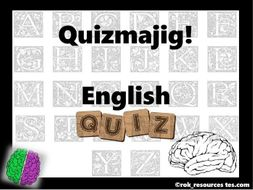 End of term 2019 English Quiz