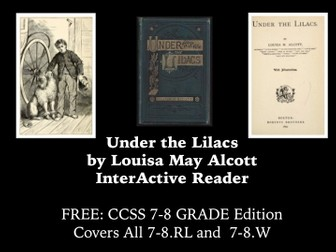 FREE ebook: Louisa May Alcott with Fillable forms: Aligned with CCSS 9-10
