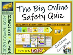 Social media + Online Safety Quiz