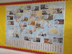 Global History Display