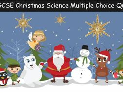 AQA GCSE Christmas Science Quiz