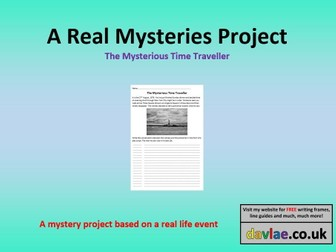 The Mysterious Time Traveller Project