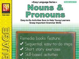 Nouns & Pronouns: Easy Language Series