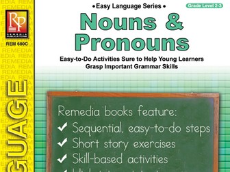 Nouns & Pronouns: Easy Language Series