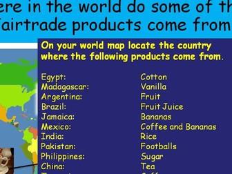 Lesson 2 Fairtrade
