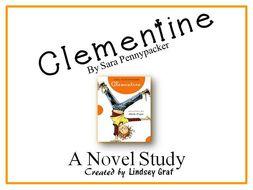 Clementine - Novel Study