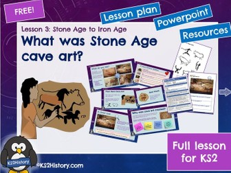 Stone Age Cave Art (Lesson for KS2)