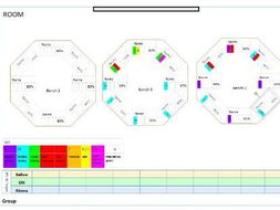 Adaptable Seating Plans
