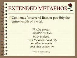 metaphor to describe silence