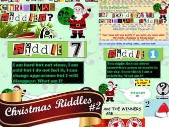 Christmas Riddle Bundle 4 In 1 Incredible Value Teaching Resources