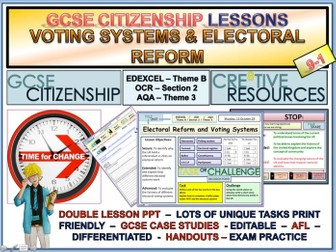 Voting Systems Electoral Reform