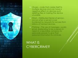 Internet, Cybersecurity and Desktop Publishing - KS3