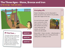 Trade and Culture - Interactive Teaching Book - The Iron Age KS2