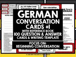 GERMAN SPEAKING PRACTICE #1