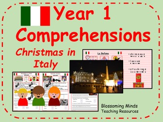 Year 1 comprehensions - Christmas in Italy