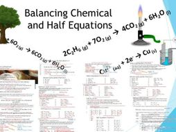 Balancing Full and Half Equations Lesson