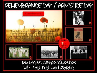 Remembrance Day: Two Minutes Silence