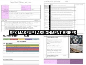 Makeup SPECIAL EFFECTS | SFX Assignment briefs