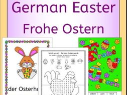 German Easter Activities and Puzzles - Ostern