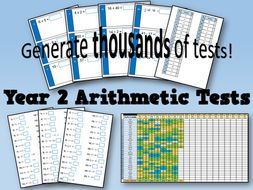 Year 2 Arithmetic Tests and Tracking (SATs)