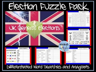 Election Puzzle Pack