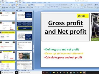 AQA GCSE 9-1 Business - 3.6.4 Analysing the financial performance of a business