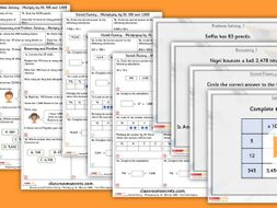Year 5 Multiplying by 10, 100 and 1,000 Autumn Block 4 Step 8 Lesson Pack