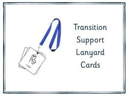 Transition Support Lanyard Cards