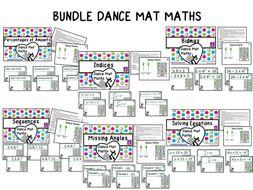 BUNDLE Dance Mat Maths
