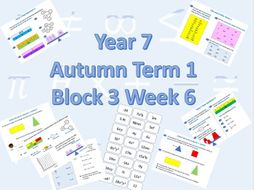 Planning for White Rose Maths Secondary Autumn Term 1 Block 3 Week 6 Equality and Equivalence