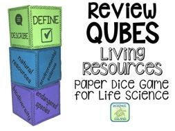 Living Resources Review Qubes for Life Science