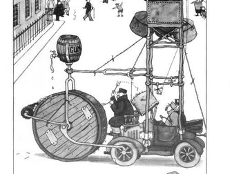 Anti-Litter Machine – Heath Robinson