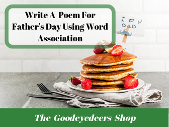 Father's Day Poetry  Ideas - Word Association Game