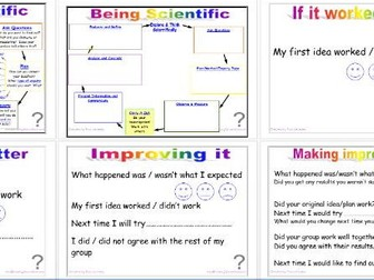 Being Scientific: Working Scientifically in Enquiry and Investigation - Evaluating Editable