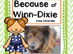 Because of Winn-DIxie Study Guide Comprehension Questions