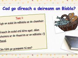An Bíobla - Ceacht faoin Chríostaíocht
